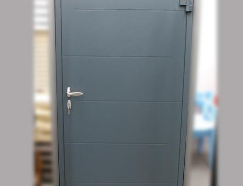 Виставковий зразок Standart | Зовнішня панель RAL 7016 | Внутрішня панель HPL 604 RC